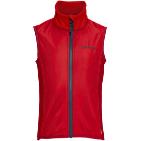 VAUDE Racoon Fleece Vest Kids indian red